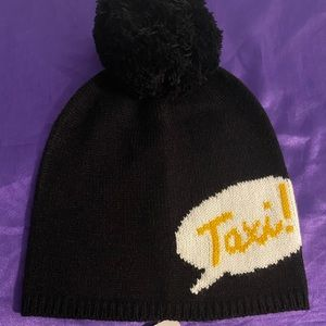Kate Spade Taxi Beanie Winter Hat